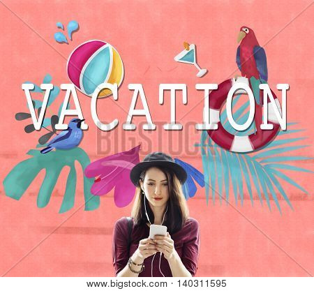 Vacation Break Holiday Summer Off Concept