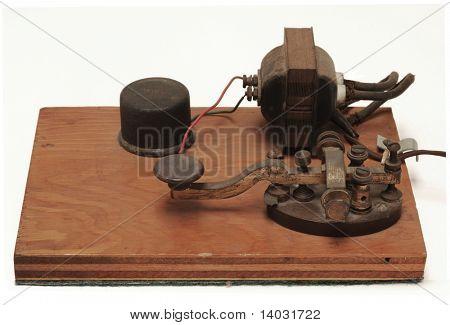 morse code telegraph station