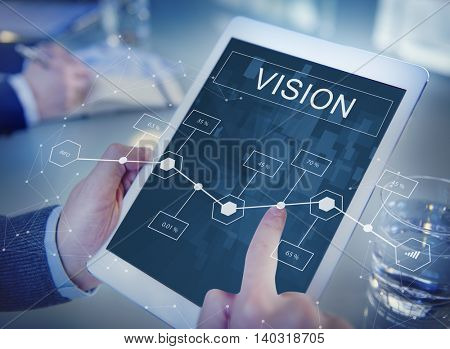 Business Vision Project Strategy Analytics Concept