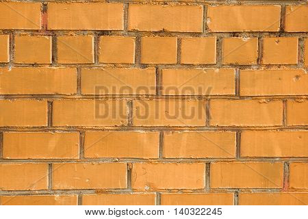 Background of structure of a brick wall wall it is made old