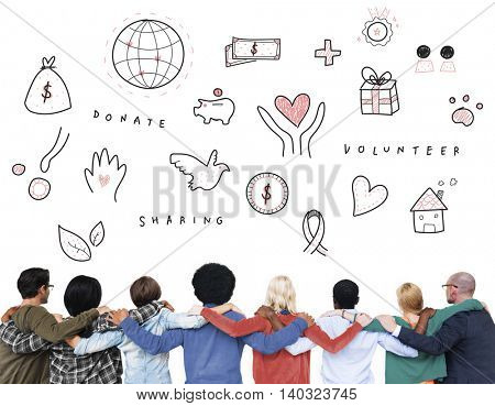 Donations Charity Foundation Support Concept