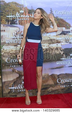 LOS ANGELES - JUL 27:  Orly Shani at the Hallmark Summer 2016 TCA Press Tour Event at the Private Estate on July 27, 2016 in Beverly Hills, CA