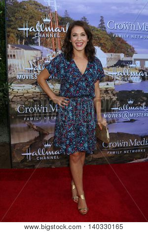 LOS ANGELES - JUL 27:  Marla Sokoloff at the Hallmark Summer 2016 TCA Press Tour Event at the Private Estate on July 27, 2016 in Beverly Hills, CA