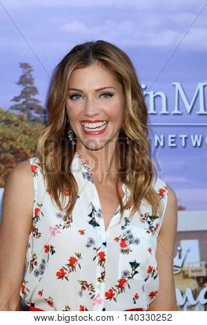 LOS ANGELES - JUL 27:  Tricia Helfer at the Hallmark Summer 2016 TCA Press Tour Event at the Private Estate on July 27, 2016 in Beverly Hills, CA