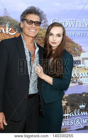 LOS ANGELES - JUL 27:  Steven Bauer, guest at the Hallmark Summer 2016 TCA Press Tour Event at the Private Estate on July 27, 2016 in Beverly Hills, CA