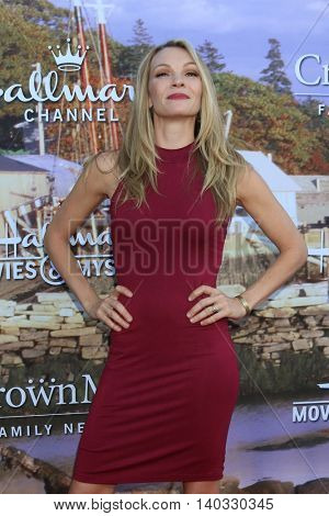 LOS ANGELES - JUL 27:  Abby Brammell at the Hallmark Summer 2016 TCA Press Tour Event at the Private Estate on July 27, 2016 in Beverly Hills, CA