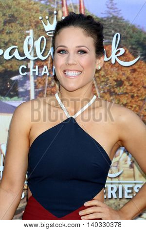 LOS ANGELES - JUL 27:  Erin Krakow at the Hallmark Summer 2016 TCA Press Tour Event at the Private Estate on July 27, 2016 in Beverly Hills, CA