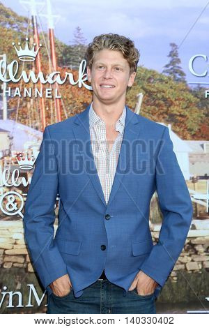 LOS ANGELES - JUL 27:  Andrew Francis at the Hallmark Summer 2016 TCA Press Tour Event at the Private Estate on July 27, 2016 in Beverly Hills, CA