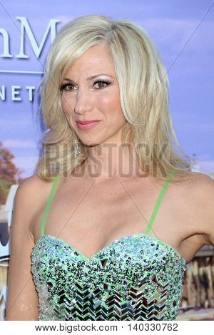 LOS ANGELES - JUL 27:  Debbie Gibson at the Hallmark Summer 2016 TCA Press Tour Event at the Private Estate on July 27, 2016 in Beverly Hills, CA