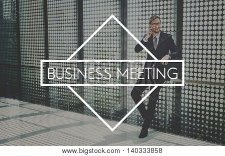 Business Meeting Agenda Appointment Concept