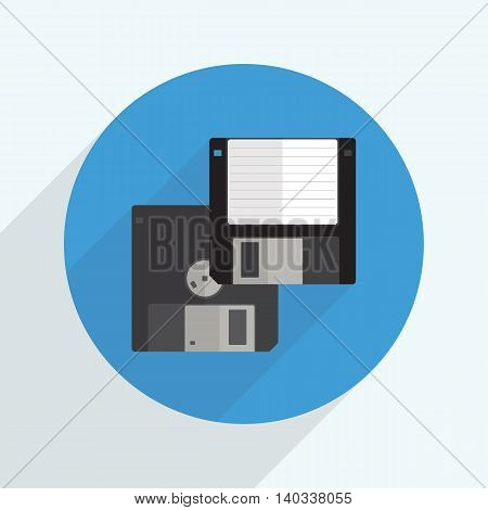 floppy disk icon for computer and graphic use