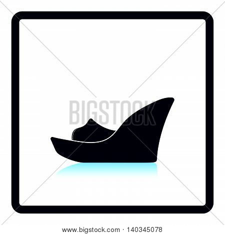 Platform Shoe Icon