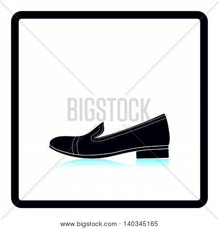 Woman Low Heel Shoe Icon