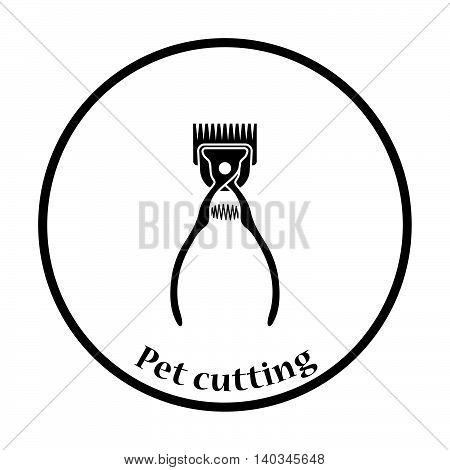 Pet Cutting Machine Icon