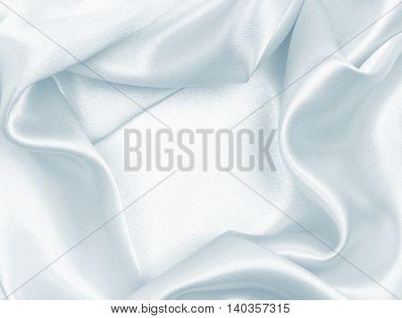 Smooth Elegant Grey Silk Or Satin Texture As Background