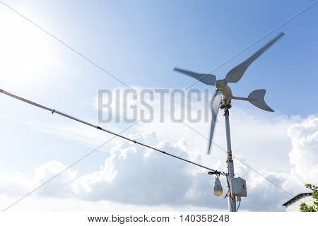 Windmill for electric power production