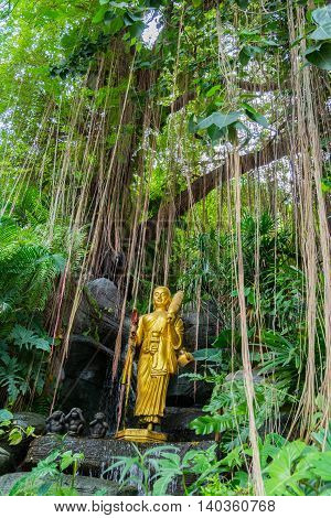 The Golden Mount, Wat Saket, Bangkok, Thailand