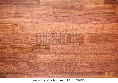 Nut wood decorative surface material and texture.