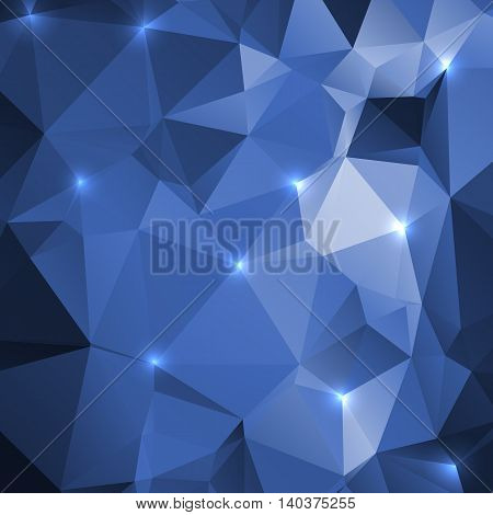 Abstract background of triangles. Used for your modern design.