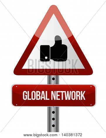 Global Network Like Sign Concept