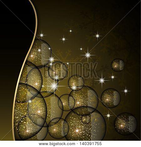 Christmas Glitter Card