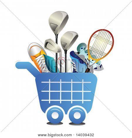 shopping icon #3. sport