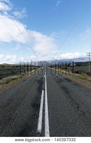 Mountain Road Side View In Oudtshoorn