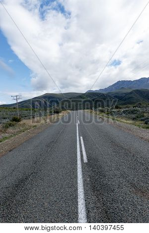 Driving Into The Mountain In  Oudtshoorn