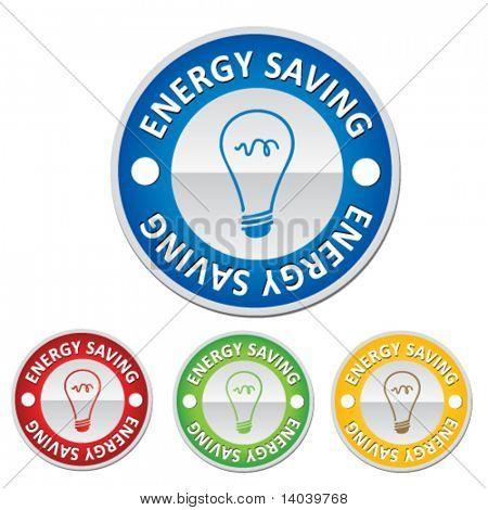 energy saving sign