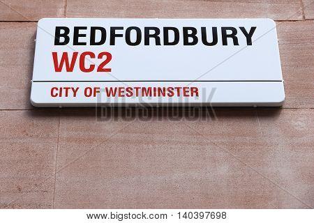 Bedfordbury, London