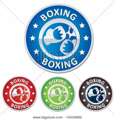 boxing badge