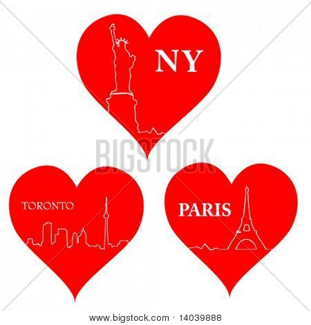love city hearts