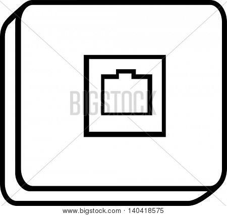 phone jack box