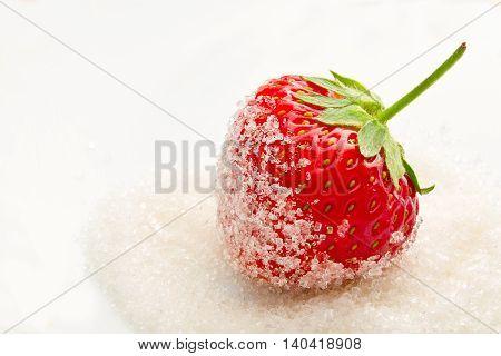 Strawberries In Sugar