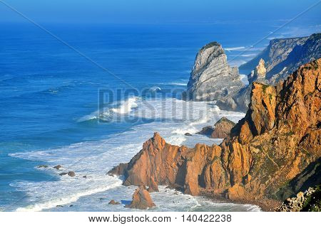 Cabo da Roca near Cascais city, Portugal