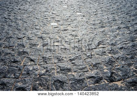 Modern stone pavement. Abstract structured background.