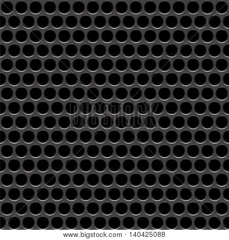 Speaker grille. Vector seamless pattern. Abstract geometric background