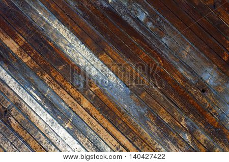 Old wooden planks texture. Abstract textured background.