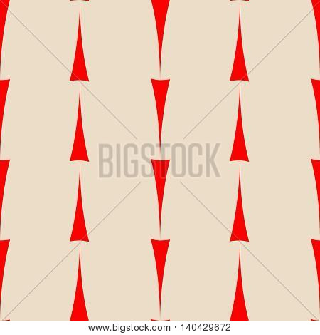 Tile vector pattern with red arrows on pastel background