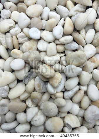 White curve rock for decoration. Stone background.
