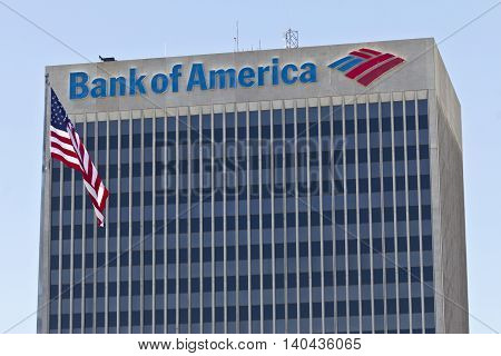 Las Vegas - Circa July 2016: Bank of America Bank and Loan Branch. Bank of America is a Banking and Financial Services Corporation II