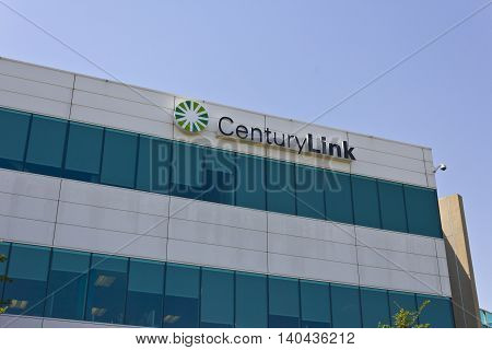 Las Vegas - Circa July 2016: CenturyLink Corporate Office. CenturyLink offers Data and Communications Services to Customers in 37 States III