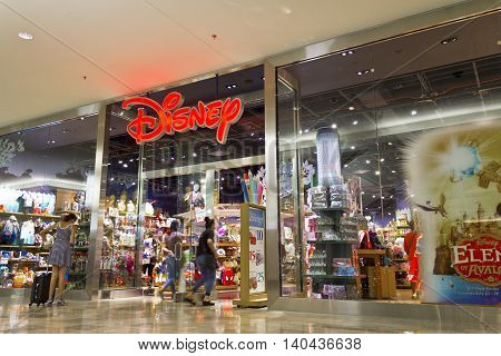 Las Vegas - Circa July 2016: Disney Store Retail Mall Location. Disney Store is the Official Site for Disney Shopping IV