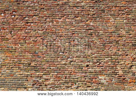Background Texture of Old Grunge Brick Wall