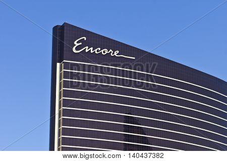 Las Vegas - Circa July 2016: Encore at Wynn Las Vegas on the Strip the Sister Resort of The Wynn Las Vegas I