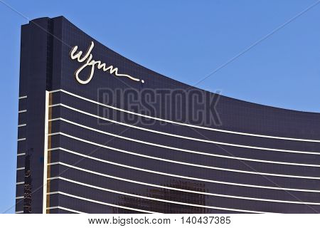 Las Vegas - Circa July 2016: The Wynn Las Vegas on the Strip. This is the flagship property of Wynn Resorts Limited I