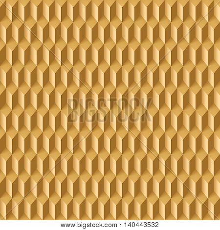 Abstract geometric background with rhombs in light brown shades