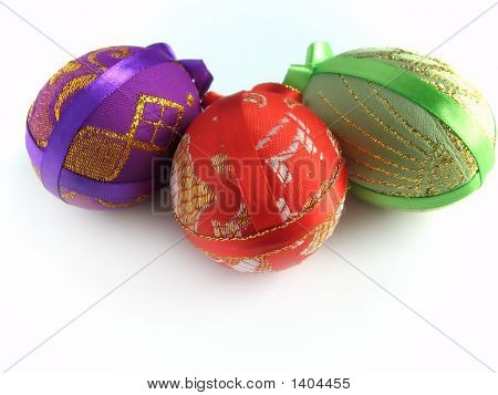 Easter Painted Egg Tied Up By Tapes 4