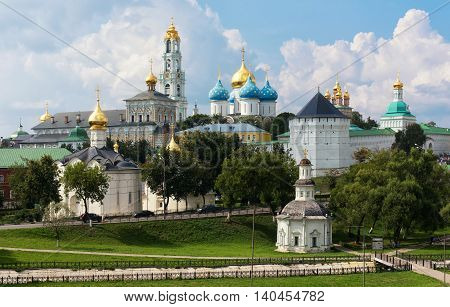 The Holy Trinity-st. Sergius Lavra, Russia.