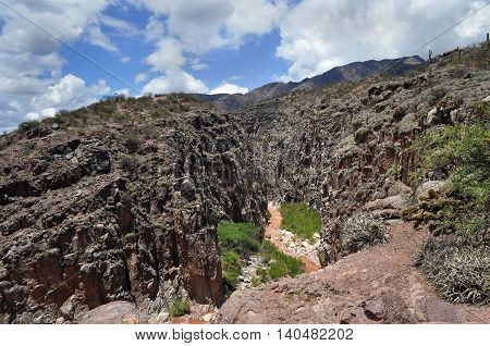 View Of River Miranda
